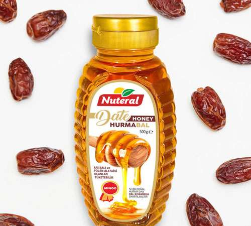 Toptan Hurma Bal - Date Honey 500 gr.