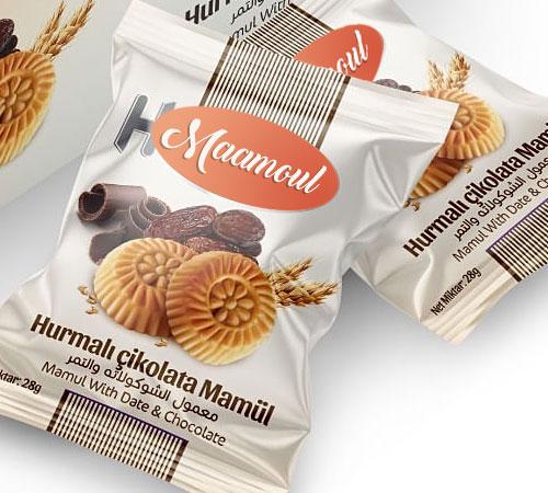 Hurmalı Çikolatalı Kurabiye Maamoul - KOLİ